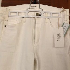 NWT McGuire white May Flare leg Jean Size 29